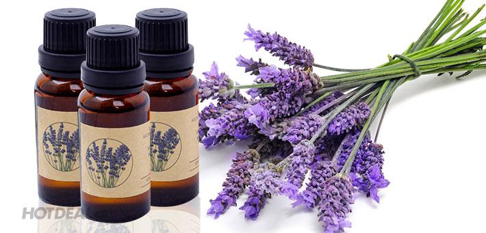 Học massage cổ đơn giản với tinh dầu lavender