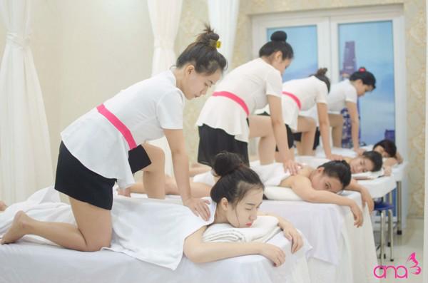học massage chuyên nghiệp, học spa chuyên nghiệp