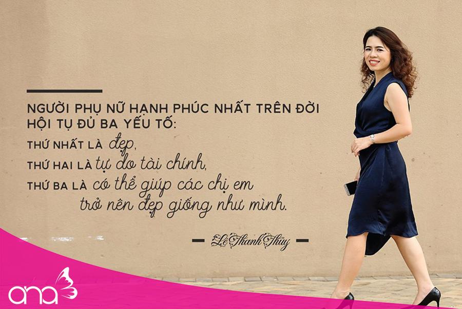 Nữ hoàng có làn da đẹp - CEO Lê Thuỵ Thanh Thuỷ
