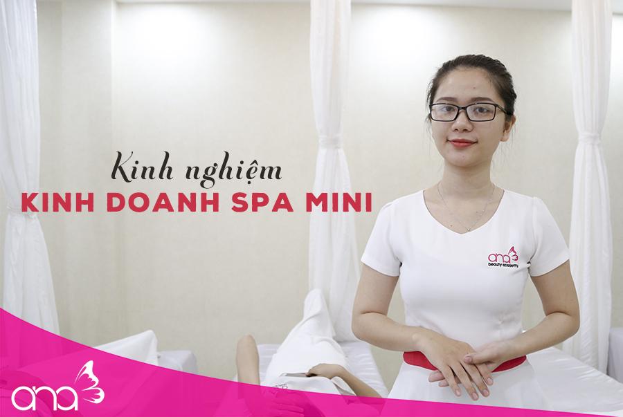 Kinh doanh spa mini - Lựa chọn hàng đầu cho các chủ spa trẻ