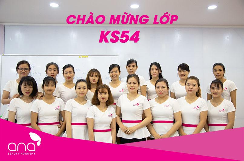 Khai giảng lớp kỹ thuật viên spa thẩm mỹ KS54