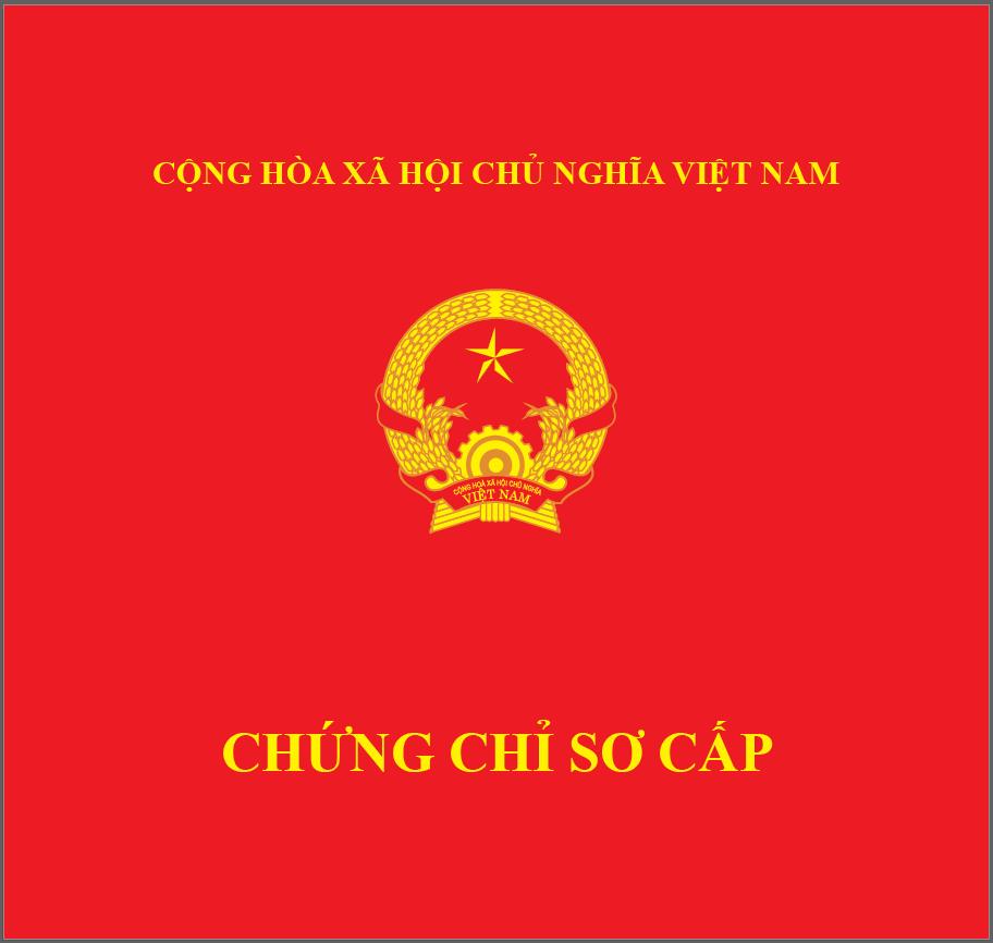 chứng chỉ bộ lao động thương binh và xã hội TP HCM cấp