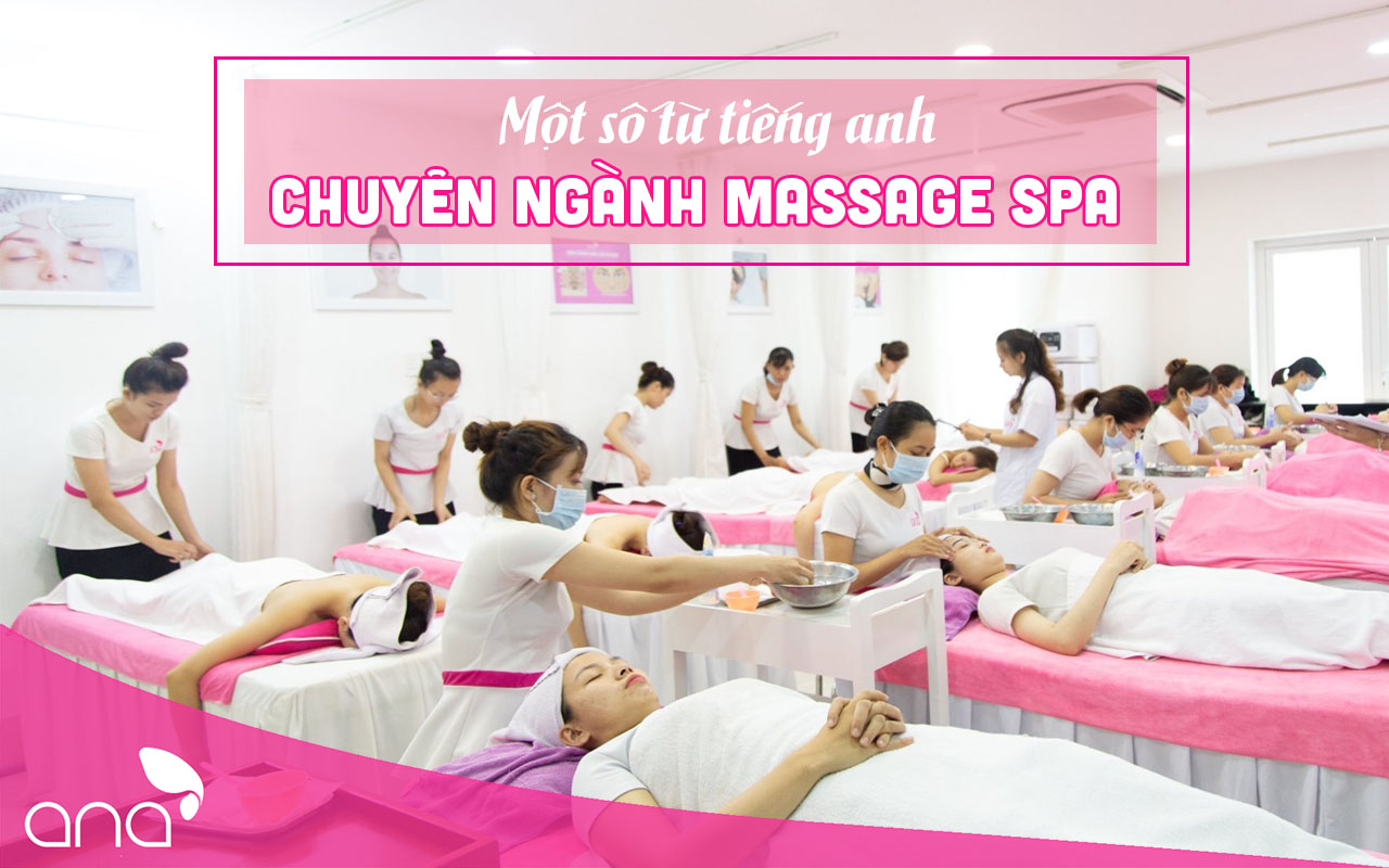 tiếng anh chuyên ngành massage