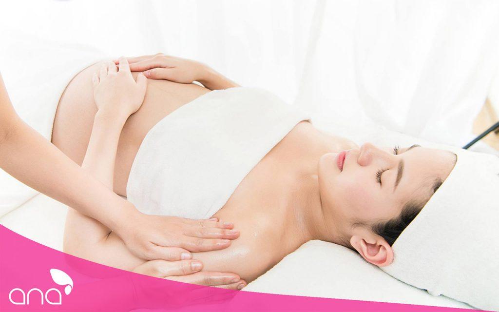 cách massage cho bà bầu
