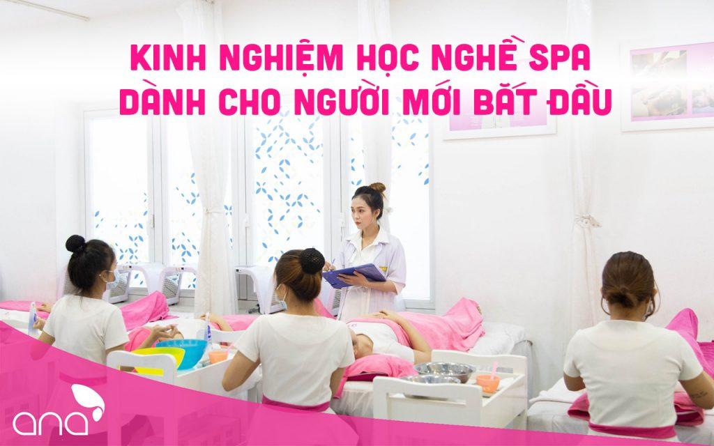 kinh nghiệm học nghề spa