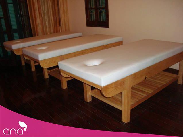 kích thước giường spa