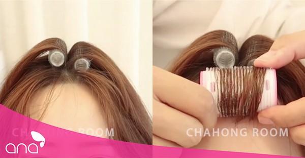 cách làm mái tóc bồng bềnh