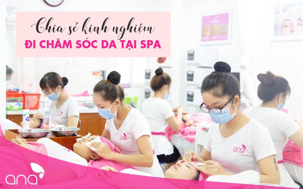 kinh nghiệm chăm sóc da ở spa